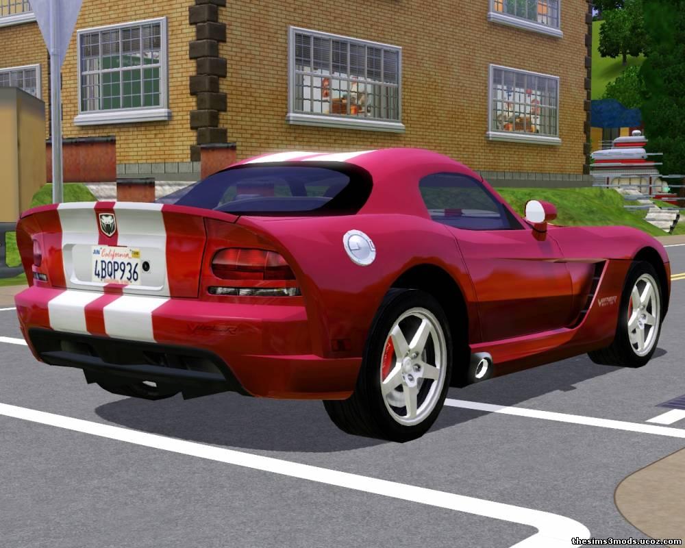 Автомобили Sims 2