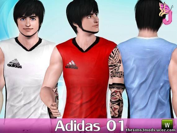 Футболка адидас sims 3