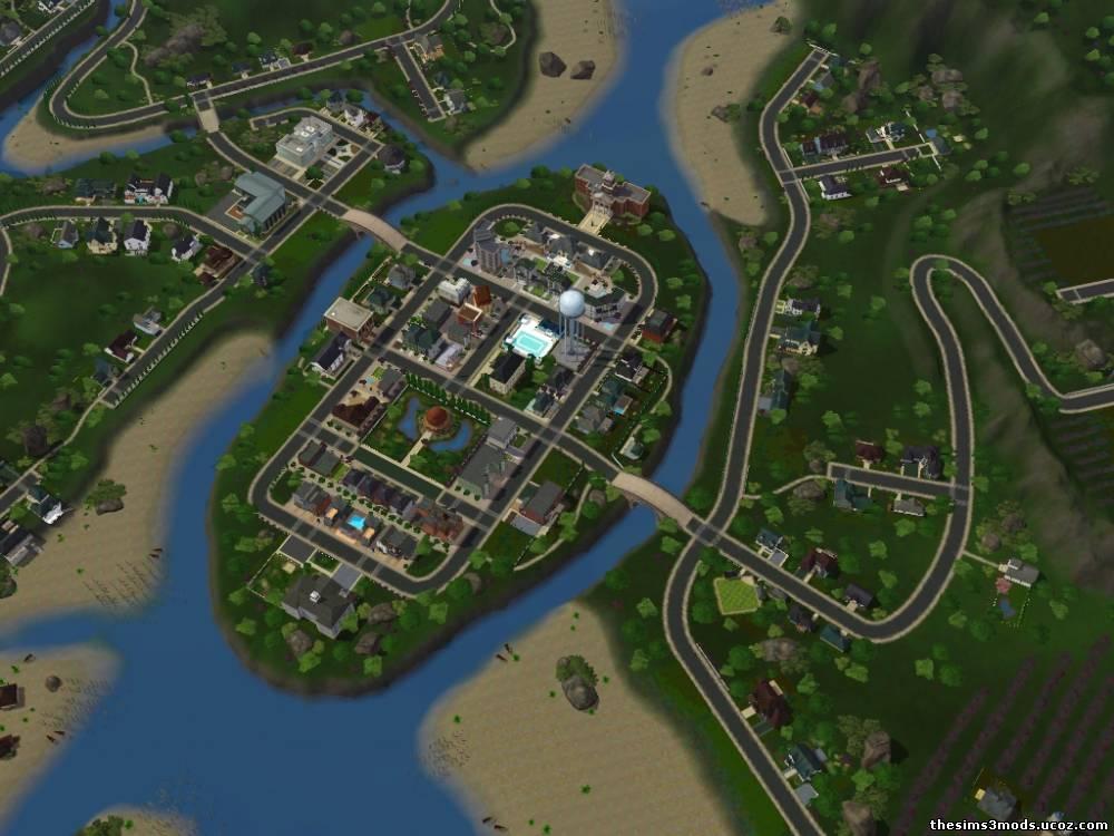 Города Для The Sims 3 Торрент